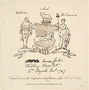 Arms for the Foundling Hospital, ca. 1747