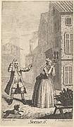 "Frontispiece to Moliere's ""Sganarelle, ou le Cocu Imaginaire"" (The Imaginary Cuckold)"