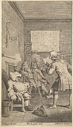"Laurence Sterne's ""Tristram Shandy,"" Frontispiece, Volume 1,"