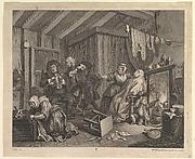 A Harlot's Progress, Plate 5