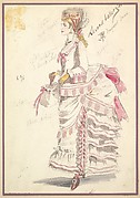 Costume Design for 'Second Ballet Girl'