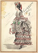 Costume Design for &amp;#39;Third Ballet Girl (Italian)&amp;#39;