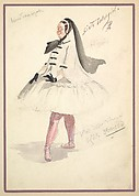 Costume Design for 'Sixth Ballet Girl'
