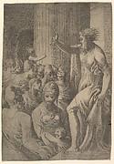 Saint Paul preaching in Athens