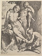 Oreads Removing a Thorn from a Satyr's Foot