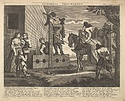 Hudibras Triumphant (Plate 4: Illustrations to Samuel Butler&amp;#39;s Hudibras)