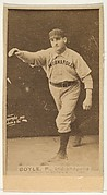 Boyle, Pitcher, Indianapolis, from the Old Judge series (N172) for Old Judge Cigarettes