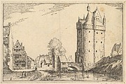 Town Gate from Regiunculae et Villae Aliquot Ducatus Brabantiae