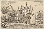 A Castle from Regiunculae et Villae Aliquot Ducatus Brabantiae