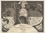 Divers Trophées (Weapon Trophies after the Façade of Palazzo Milesi in Rome)