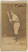 Myers, Catcher, Indianapolis, from the Old Judge series (N172) for Old Judge Cigarettes
