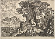 Landscape with Tobias and the Angel and Gypsies