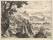 Mountainous Landscape with the Rest on the Flight into Egypt