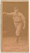 Boyle, Pitcher, New York, from the Old Judge series (N172) for Old Judge Cigarettes