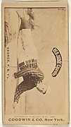 Bill George, Pitcher, New York, from the Old Judge series (N172) for Old Judge Cigarettes