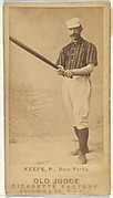 """Timothy John """"Tim"""" Keefe, Pitcher, New York, from the Old Judge series (N172) for Old Judge Cigarettes"""