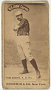 "Timothy John ""Tim"" Keefe, Pitcher, New York, from the Old Judge series (N172) for Old Judge Cigarettes"