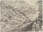 Large Alpine Landscape