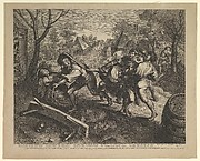 Peasants Fighting over a Game of Cards