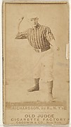 Danny Richardson, 2nd Base, New York, from the Old Judge series (N172) for Old Judge Cigarettes
