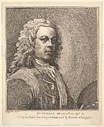 William Hogarth, Self-portrait