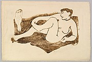 Reclining and Standing Female Nudes