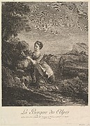 Shepherd Girl of the Alps