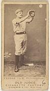Sidney Douglas Farrar, 1st Base, Philadelphia, from the Old Judge series (N172) for Old Judge Cigarettes