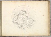 Cupid and a Shepherd (in Sketch Book With Drawings on Twenty-six Leaves)