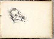 William Makepeace Thackeray (in Sketch Book With Drawings on Twenty-six Leaves)