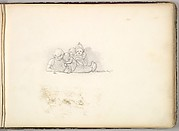 A Group of Seated Children (in Sketch Book With Drawings on Twenty-six Leaves)