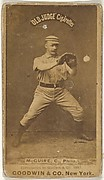 "James Thomas ""Deacon"" McGuire, Catcher, Philadelphia, from the Old Judge series (N172) for Old Judge Cigarettes"