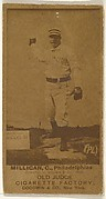 "John ""Jocko"" Milligan, Catcher, Philadelphia, from the Old Judge series (N172) for Old Judge Cigarettes"