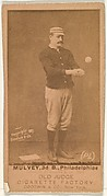 "Joseph H. ""Joe"" Mulvey, 3rd Base, Philadelphia, from the Old Judge series (N172) for Old Judge Cigarettes"