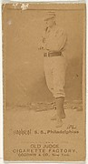 "Daniel Webster ""Dan"" Shannon, Shortstop, Philadelphia, from the Old Judge series (N172) for Old Judge Cigarettes"