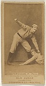 "Charles J. ""Charlie"" Ferguson, Pitcher, Philadelphia, from the Old Judge series (N172) for Old Judge Cigarettes"