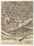 Plan of the City of Rome. Part 11 with the San Pancrazio (left bank)