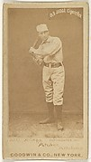 "William ""Bill"" Robinson Bishop, Pitcher, Pittsburgh, from the Old Judge series (N172) for Old Judge Cigarettes"