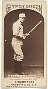 "Thomas ""Tom"" Tarlton Brown, Center Field, Pittsburgh, from the Old Judge series (N172) for Old Judge and Gypsy Queen Cigarettes"