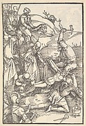Christ Nailed to the Cross from Ulrich Pinder, Speculum Passionis Domini Nostri Ihesu Christi