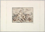 Woman Seated with Four Putti