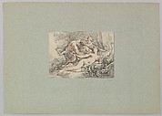 Satyr Attacking a Nymph Repulsed by Cupid