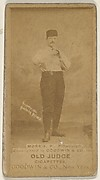 Ed Morris, Pitcher, Pittsburgh, from the Old Judge series (N172) for Old Judge Cigarettes