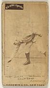 """Charles Marv """"Pop"""" Smith, Shortstop, Pittsburgh, from the Old Judge series (N172) for Old Judge Cigarettes"""