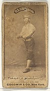 "Patrick ""Pat"" E. Dealy, Catcher, Washington Nationals, from the Old Judge series (N172) for Old Judge Cigarettes"