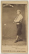 """Patrick """"Pat"""" E. Dealy, Catcher, Washington Nationals, from the Old Judge series (N172) for Old Judge Cigarettes"""