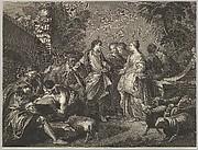 Jacob arrives in Mesopotamia
