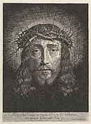 La sainte Face couronnee d'epines, (grand format)
