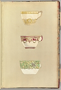 Three Designs for Decorated Cups