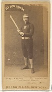 """John A. """"Jack"""" Farrell, 2nd Base, Washington Nationals, from the Old Judge series (N172) for Old Judge Cigarettes"""